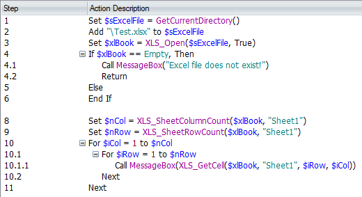 Read Excel